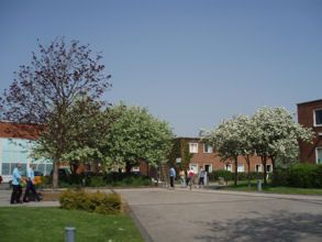 Edge Hill campus.